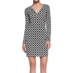 DVF Reina Chain Link Mini dress size 0